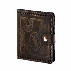 Мужской кожаный кошелек Монеты