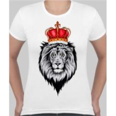 Футболка Лев с красной короной