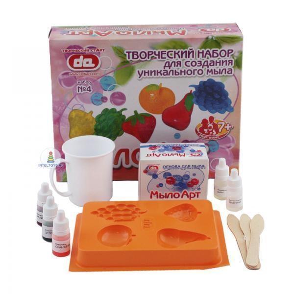 Детский набор для создания мыла «Фрукты»