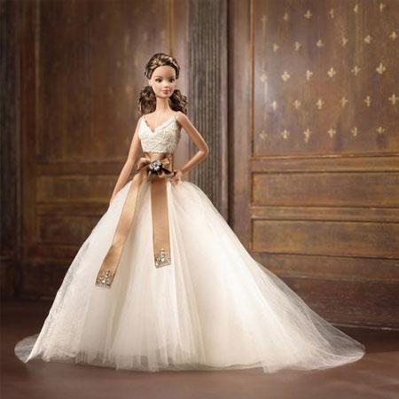 Барби Невеста в платье от Моник Лулье