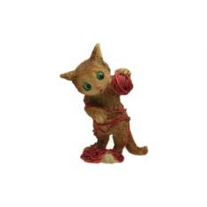Фигурка Котёнок с клубком