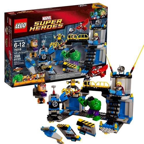 Конструктор Lego Super Heroes Лаборатория Халка