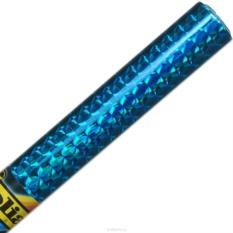 Голографическая бумага Folia Бриллианты, самоклеящаяся, синяя (40x100 см)