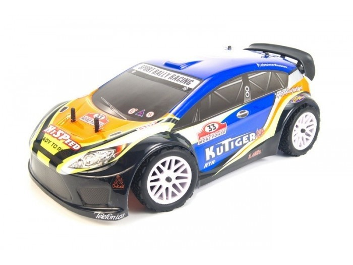 Модель раллийного авто HSP Kutiger EP Rally Car 4WD RTR