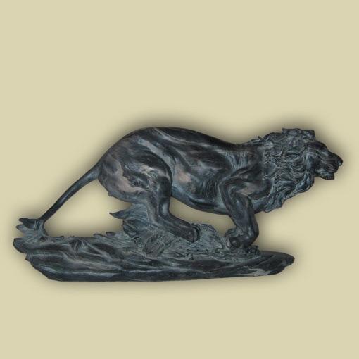 Статуэтка «Бегущий лев»