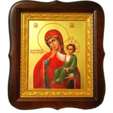 Ватопедская икона Божией Матери Отрада и Утешение.