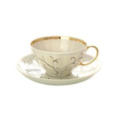Дулевский чайный сервиз Белый Лебедь. Морозко