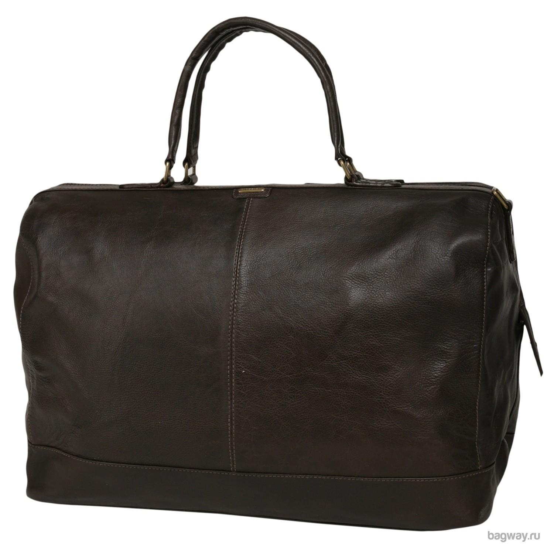 Кожаная дорожная сумка Travel Moscow от Hidesign