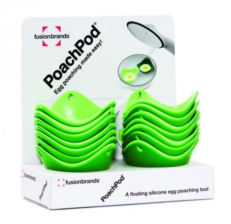 Дисплей для форм для варки яйца без скорлупы PoachPod