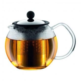 Чайник с металлическим прессом BODUM Assam