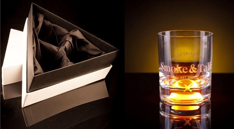 Набор из 3 бокалов GlasShine c Вашей гравировкой