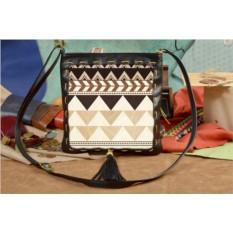 Женская сумка-планшет с принтом Геометрический узор