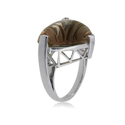 Кольцо с кварцом TTF-Luxury