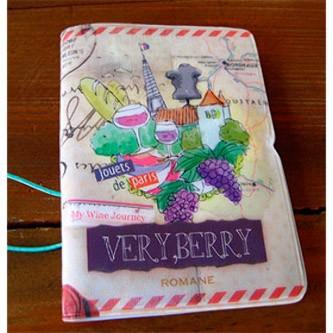 Держатель для карточек Very berry — Paris
