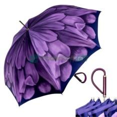 Зонт-трость Pasotti Anzi Georgin Viola Plastica