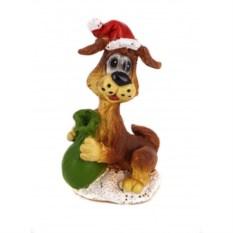 Декоративная фигурка Собака с мешком