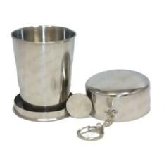 Раскладной стаканчик с гравировкой в чехле S.Quire
