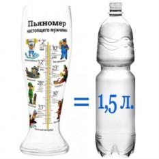 Гигантский пивной бокал «Пьяномер»