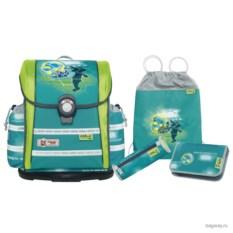 Зеленый школьный ранец McNeill Ergo Light