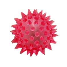 Мяч-прыгун с шипами и светом (4,5 см)