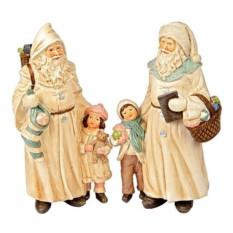 Фигурка Санта и малыш
