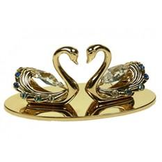 Фигурка декоративная Swarovski Лебеди