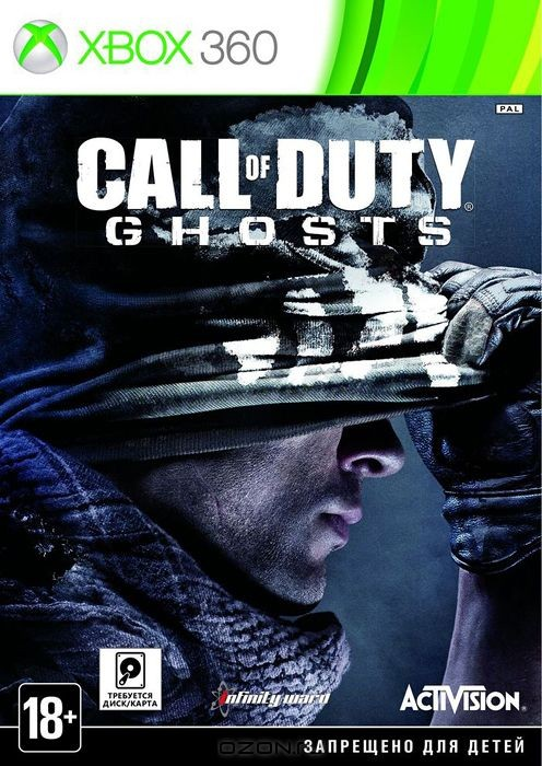 Игра Call of Duty: Ghosts (Xbox 360)