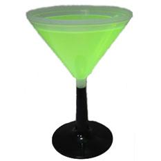 Светящийся бокал для мартини