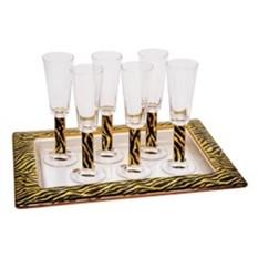 На6ор «Зебра»: 6 бокалов для шампанского