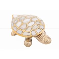 Шкатулка Черепаха с перламутром