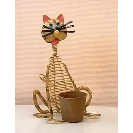 Декоративное украшение «Кот Гусар»