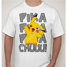 Мужская футболка pika pika pukachuuuu