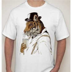 Мужская футболка Тигрмен