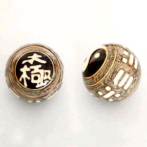 Музыкальный шар здоровья «Инь-Янь» с иероглифом