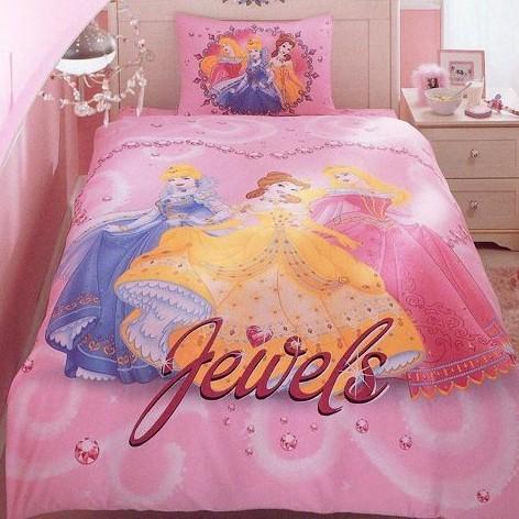 Детское постельное белье Princess jewels