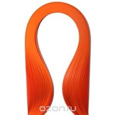 Набор бумаги для квиллинга, цвет: оранжевый, 100 шт