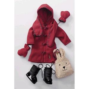 Осенний гардероб для куклы
