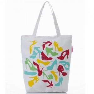 Легкая шоппинг-сумка Туфли