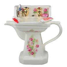 Фарфоровый чайник «Умывальник»