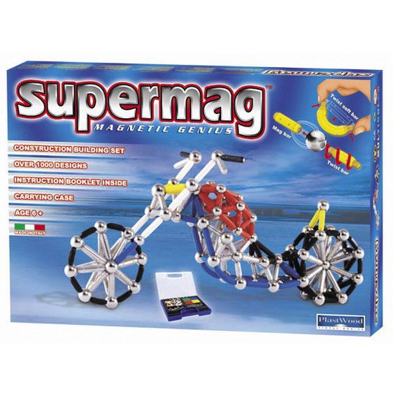 Магнитный конструктор Supermag «Большой мотоцикл»