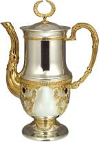 Серебряный кофейник Царский