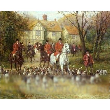 Картина «Сцена охоты»