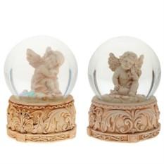 Декоративная фигурка в стеклянном шаре Ангел