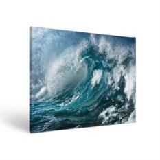 Прямоугольный холст Волна