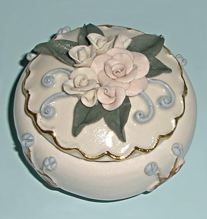 Шкатулка ручной работы Королева роз