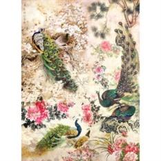 Рисовая бумага для декупажа Craft Premier Павлины, Китай