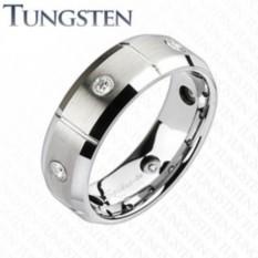 Вольфрамовое мужское кольцо Spikes R-TU-141