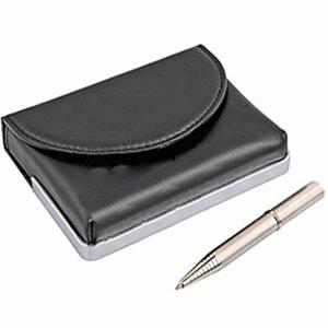 Визитница с ручкой Business