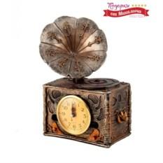 Настольные часы Патефон