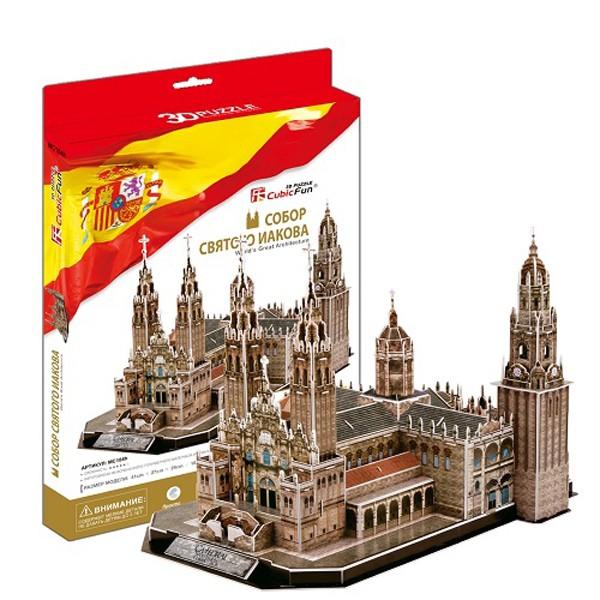 3D Пазл  Собор Святого Иакова